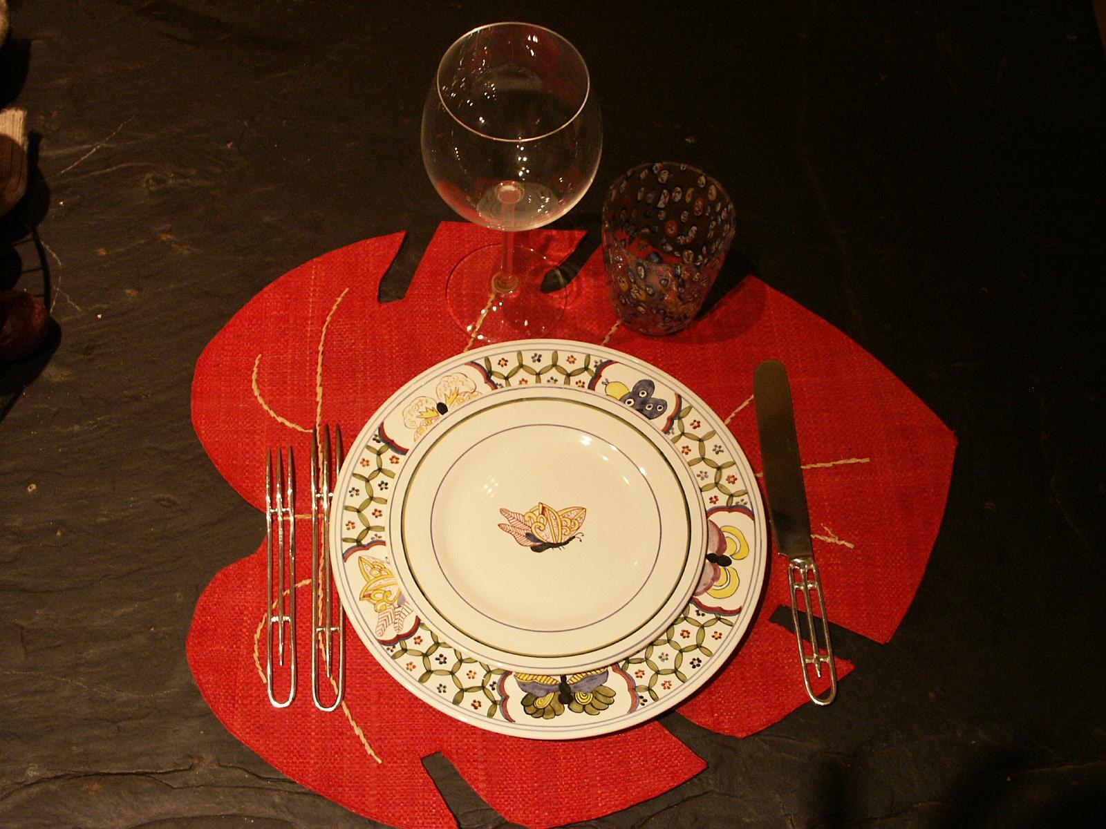 Couverts si cle paris - Ordre des verres sur la table ...