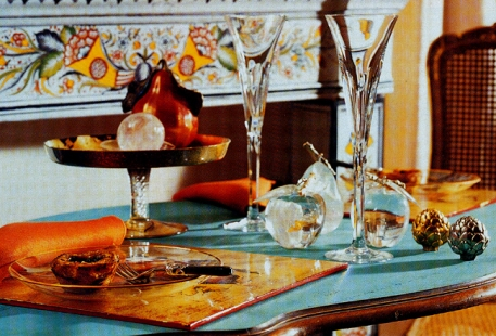 Mise en Scène Table pour Deux, SIECLE Paris