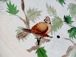 Fresque Oiseaux en Découpage dans un Patio de Fleur, Réalisé au Crato, Portugal